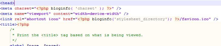 Code für FavIcon einfügen